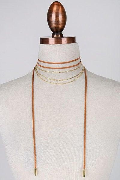 Boho Choker Necklace