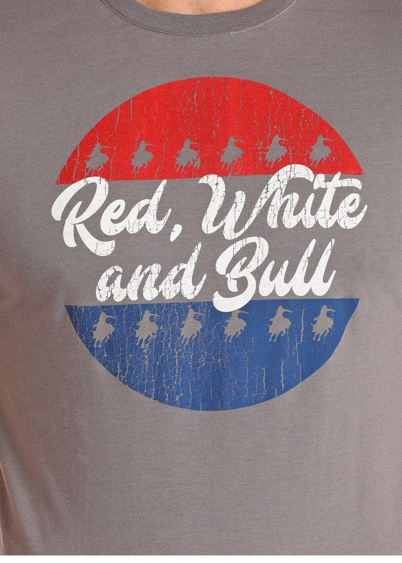 Red White & Bull Tee