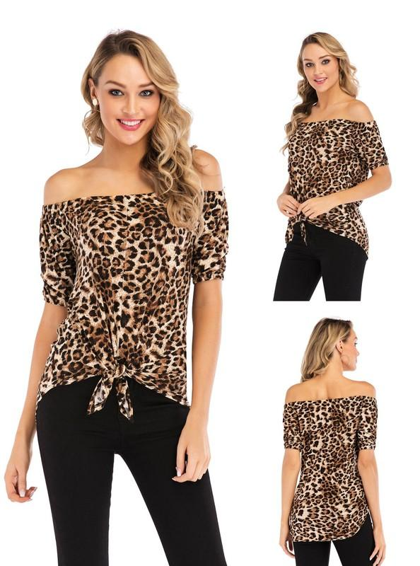 Front Tie Leopard