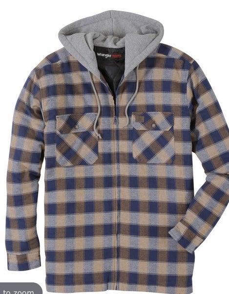 Workwear Hooded Flannel