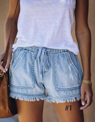 Summer Sky Shorts