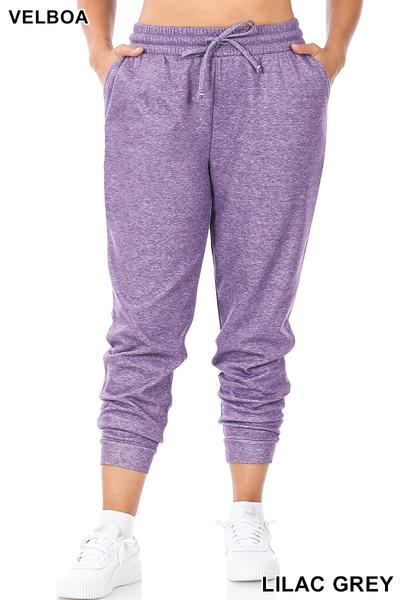 Purple Joggers