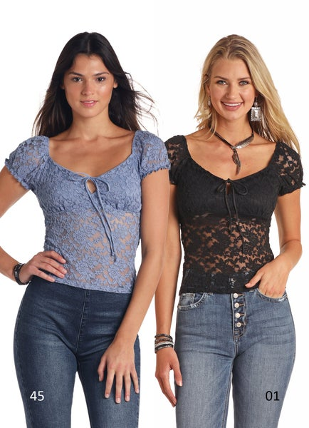 Lovable Lace Top