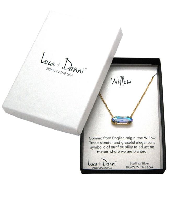 Willow Crystal Necklace