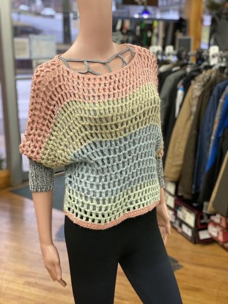 Umgee Color Block Knit