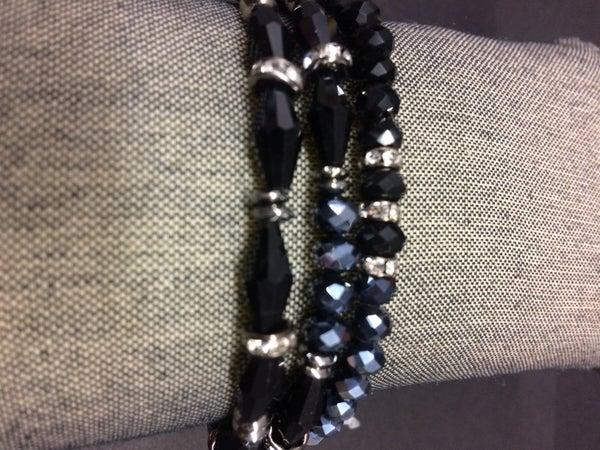 Nisha Three Strand Stretch Bracelet
