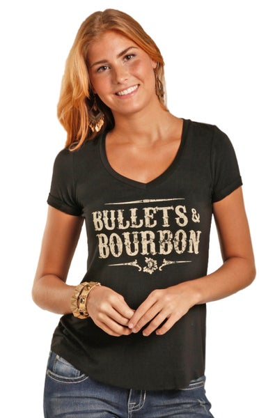 Bullets & Bourbon Tee
