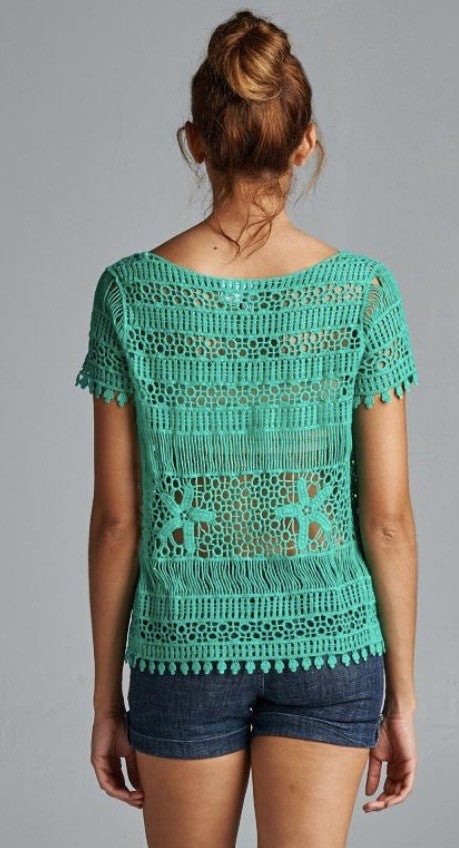 Ash Crochet Top