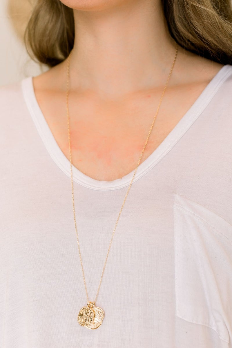 Round and Round Necklace