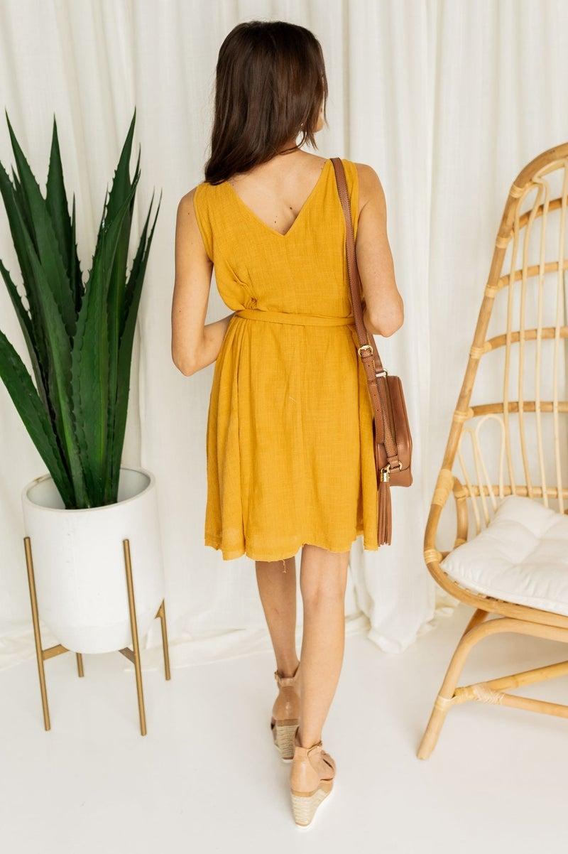 Away With the Sun Dress