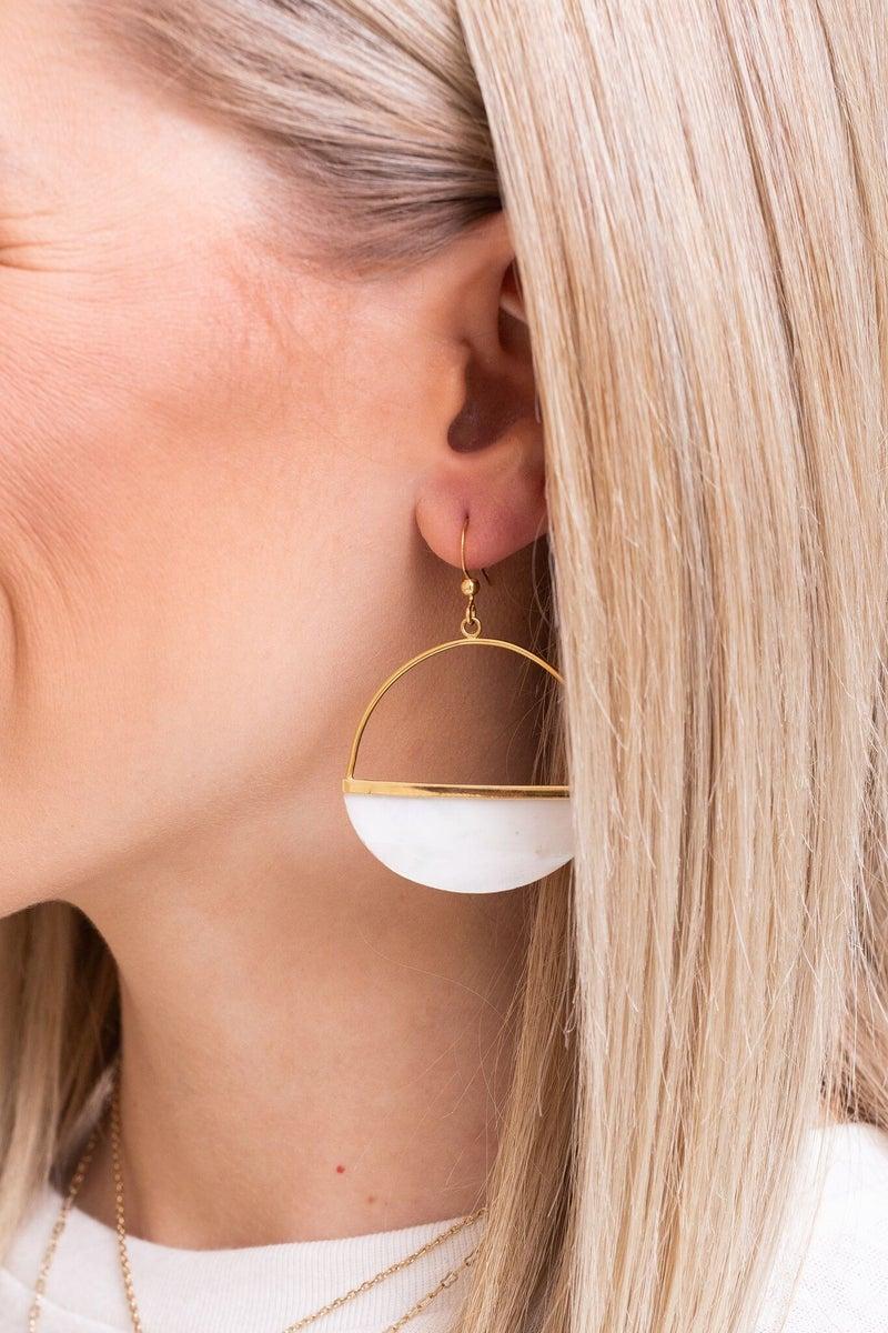 Earned it Earrings *Final Sale*
