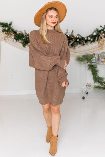 Warming Up Sweater Dress