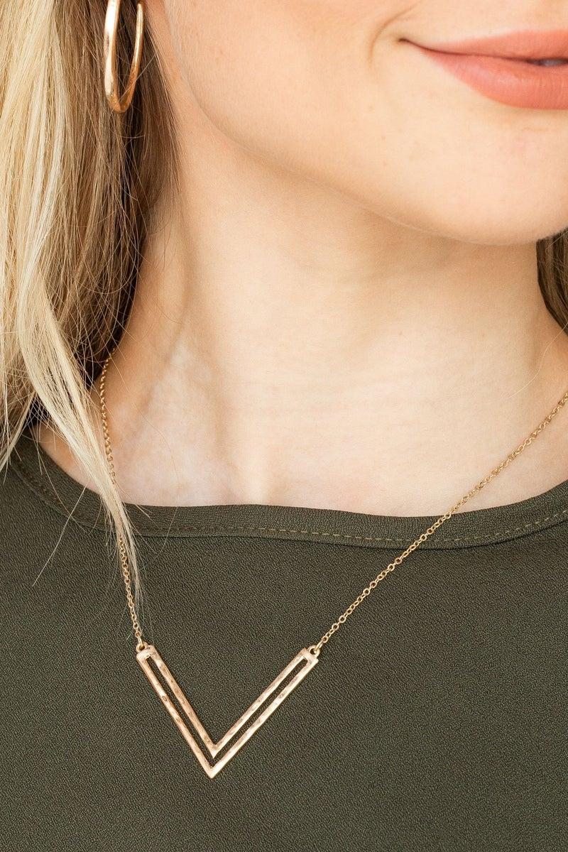 Pendant Forward Necklace *Final Sale*