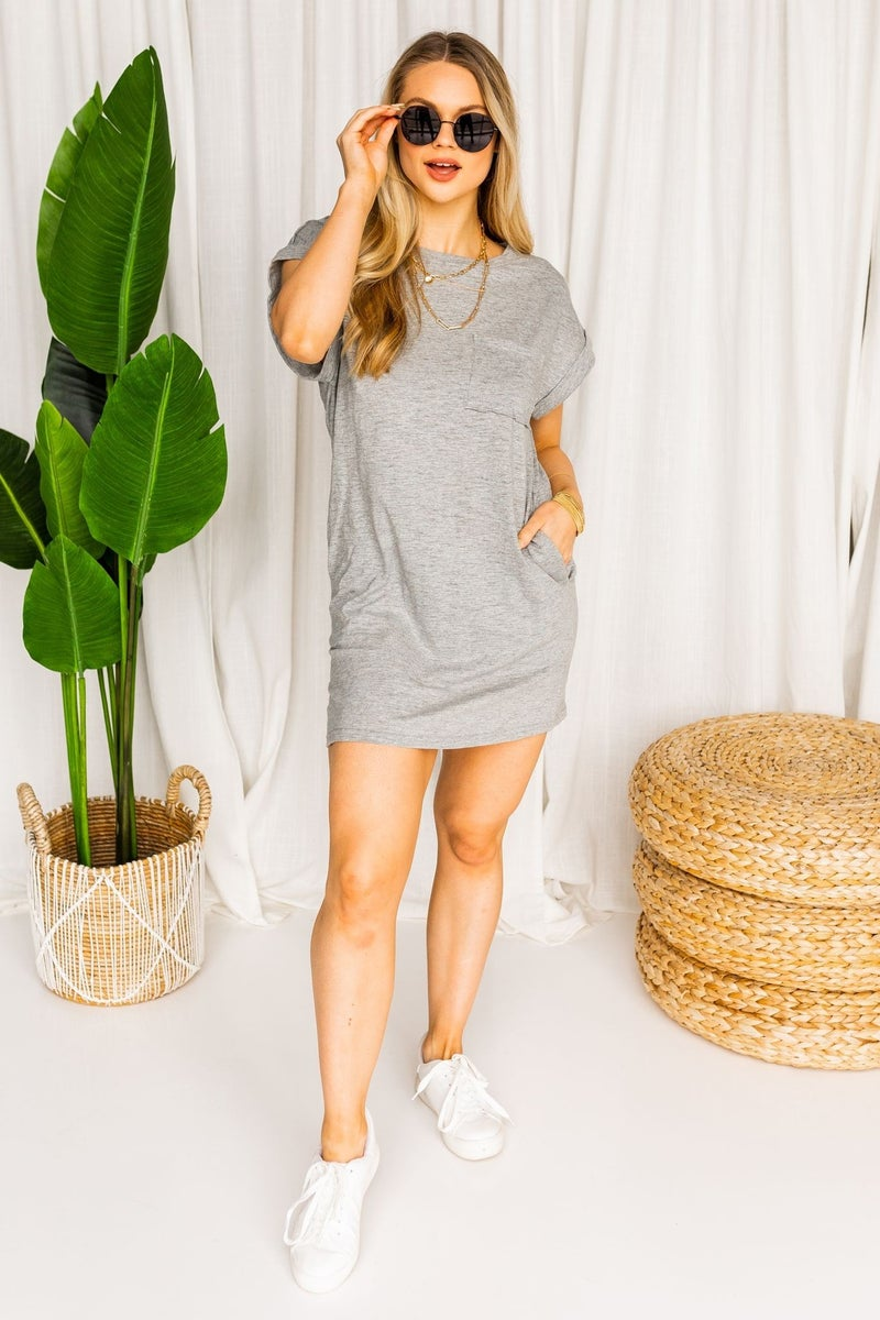 Out in the Sun Tee Dress
