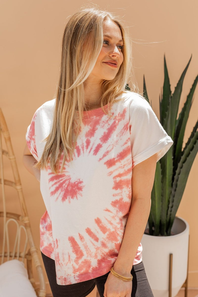 Swirl into Weekend Tee