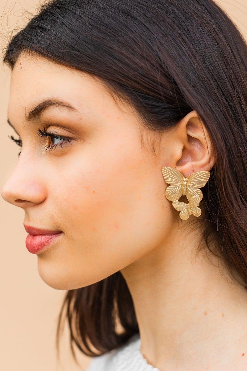 A little Flutter Earring *Final Sale*