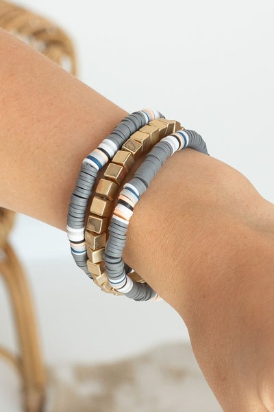 Stack it Up Bracelet *Final Sale*