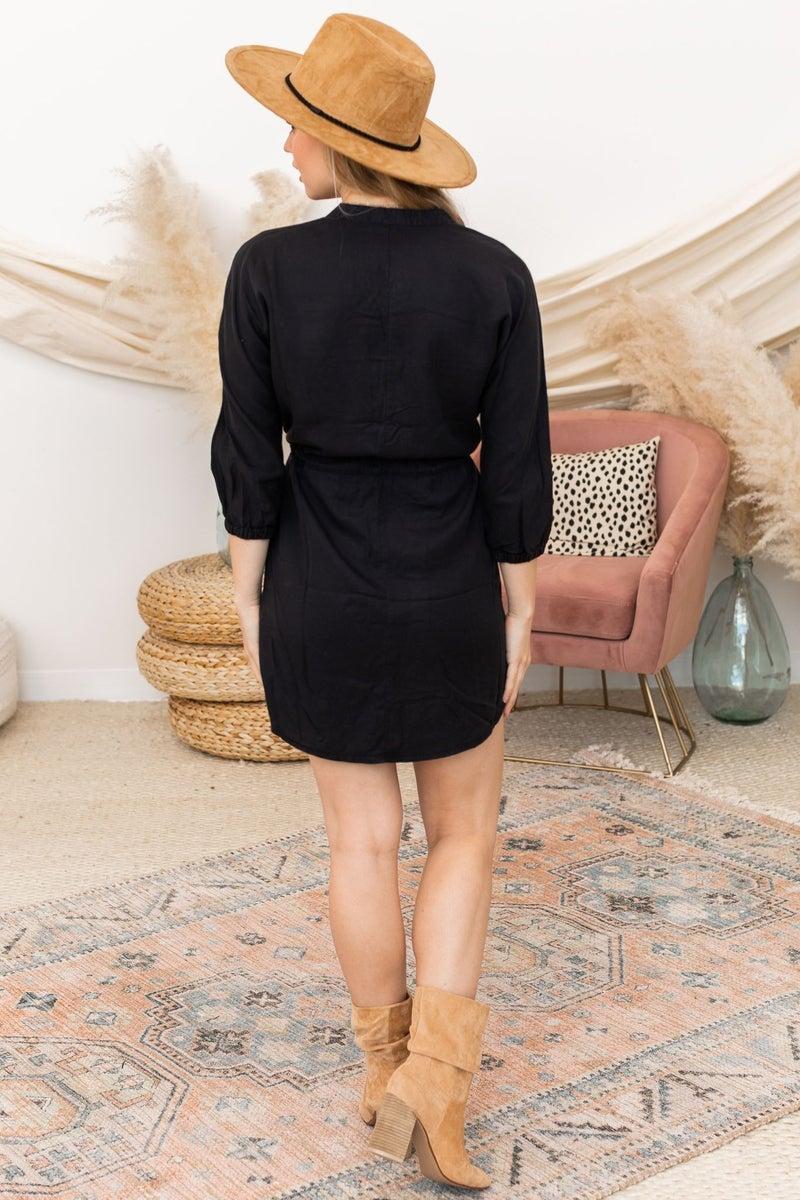 Button Around Dress