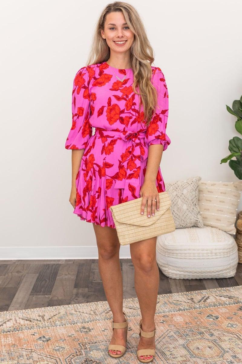 Blushing Roses Dress