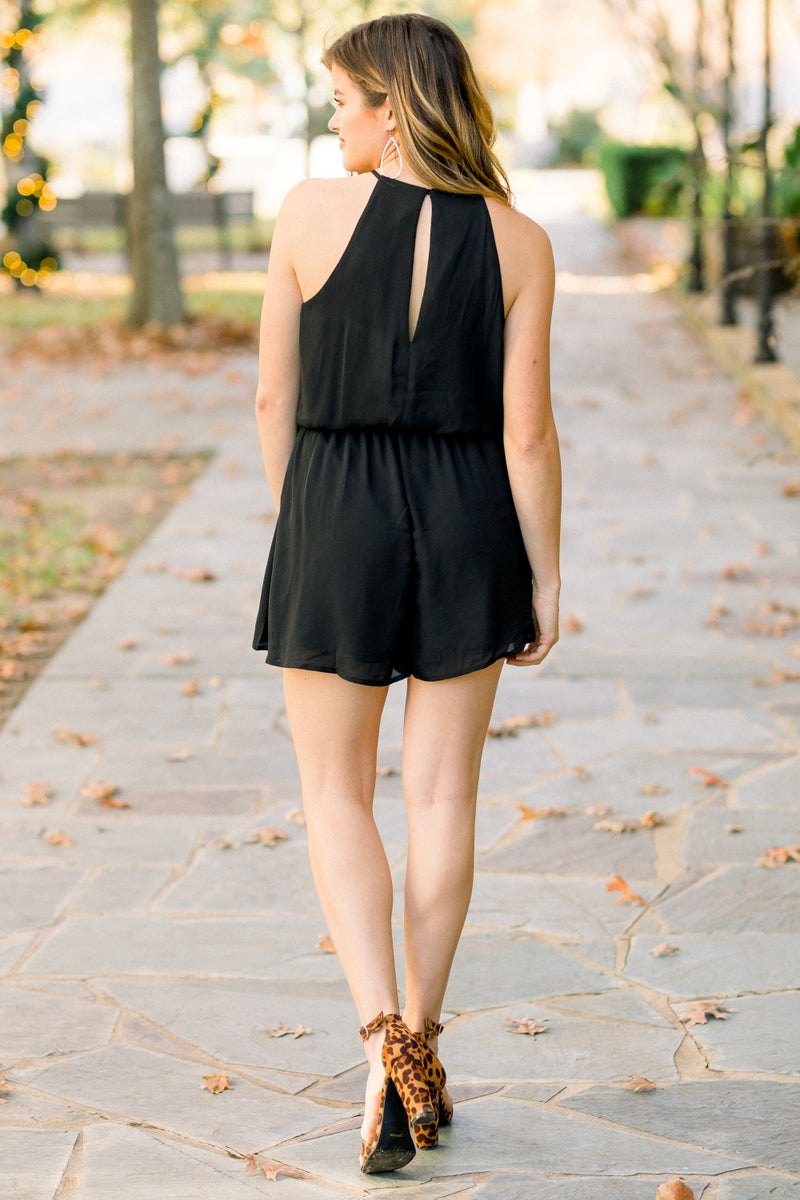 Midnight Strikes Romper