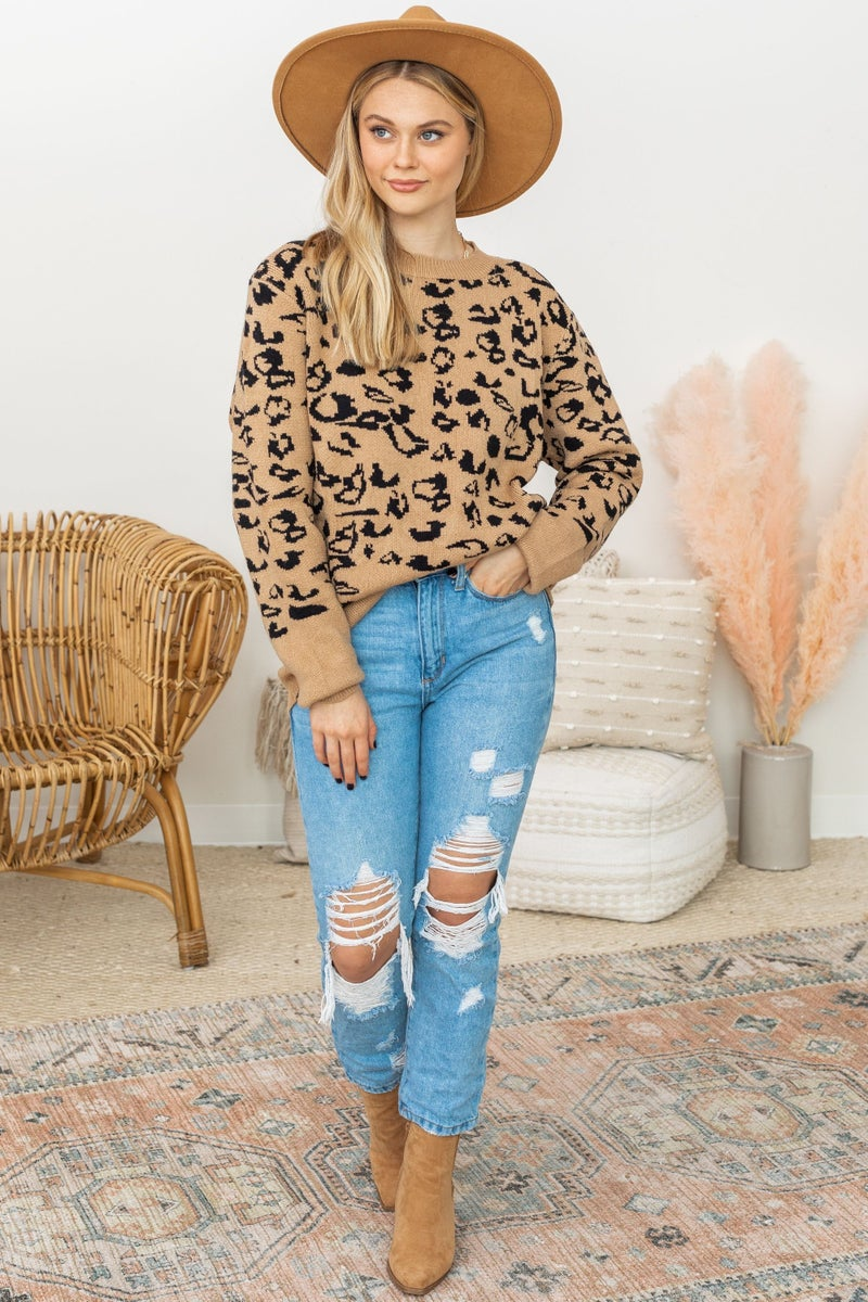 Living in the Moment Sweater