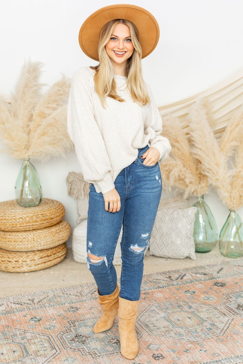 Savvy and Chic Sweater