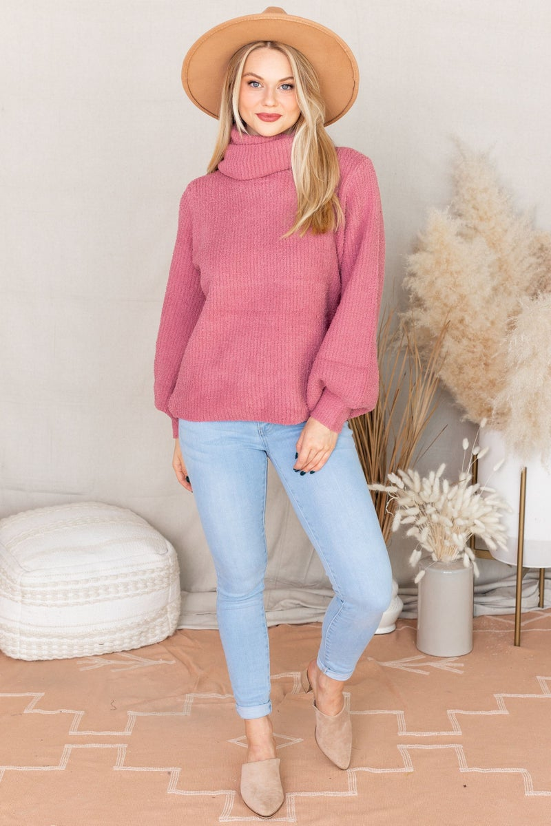 Rosé All Day Sweater