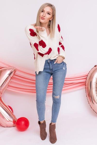 Cross my Heart Sweater