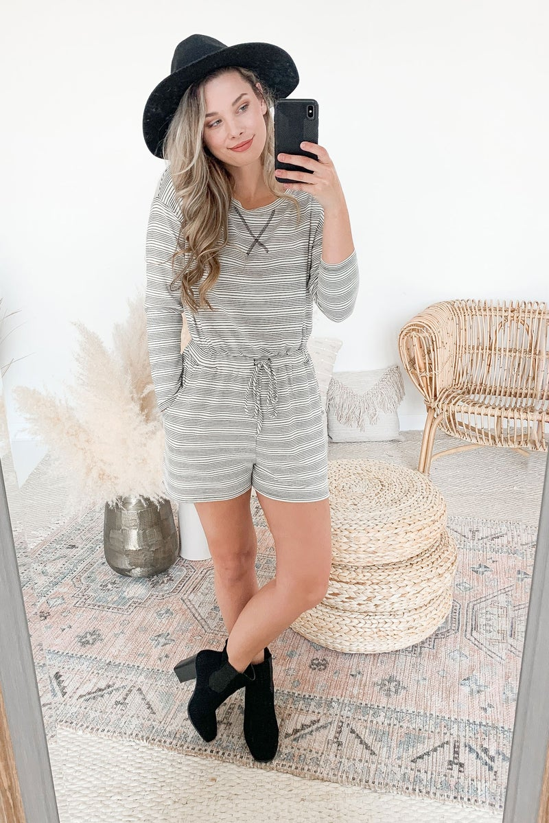 A Day in the Life Romper