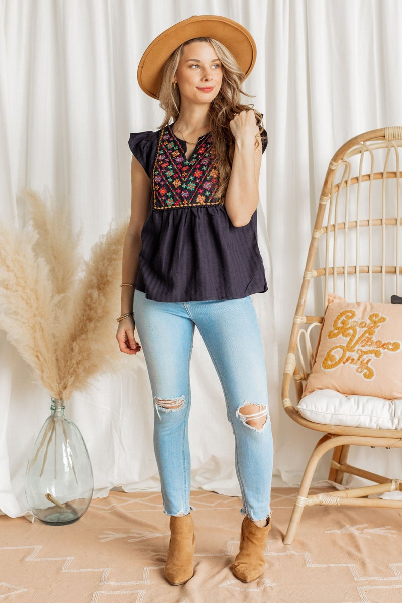 Moroccan Mystery Top
