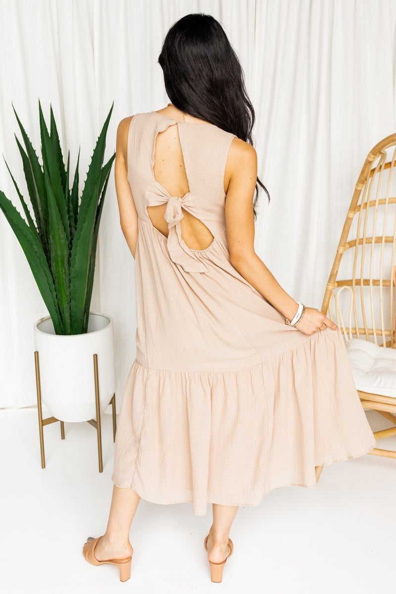 Shooting the Breeze Midi Dress