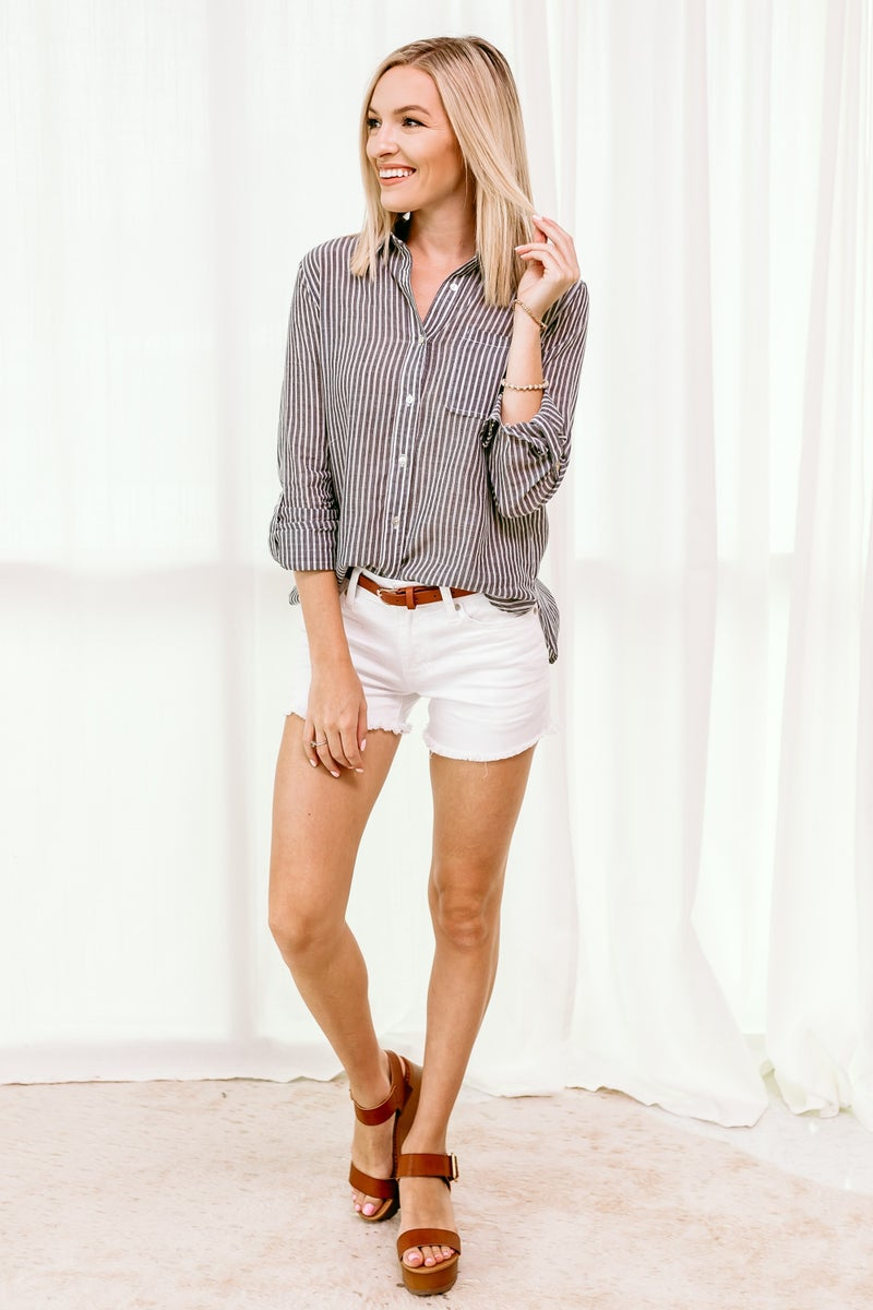Buttoned Up Top