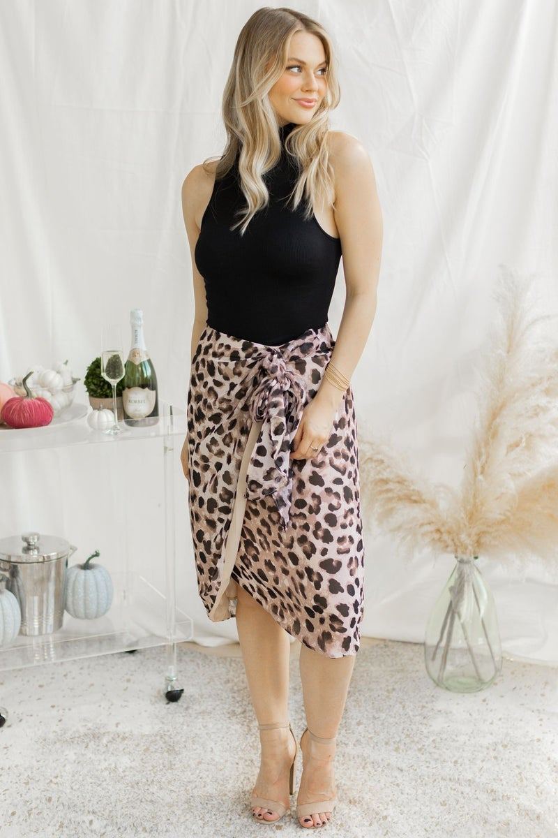 Wrapped in Style Midi Skirt