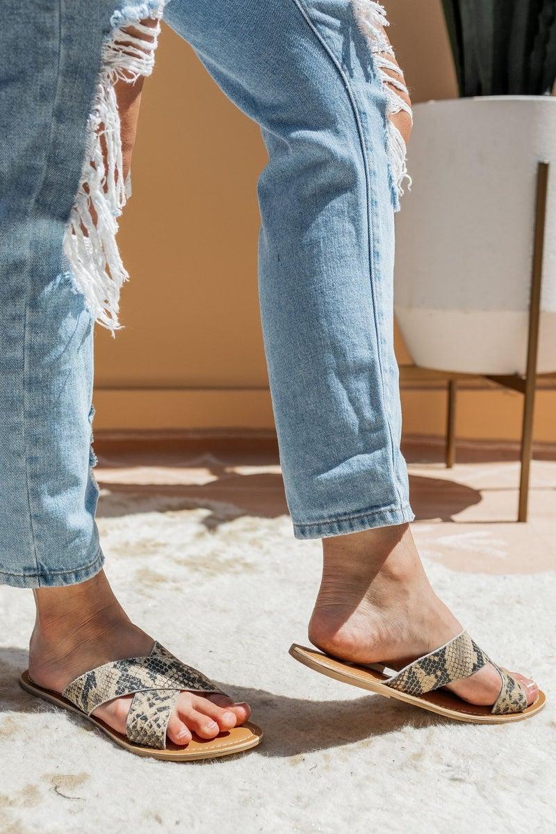 Sneaking Past Dusk Sandal