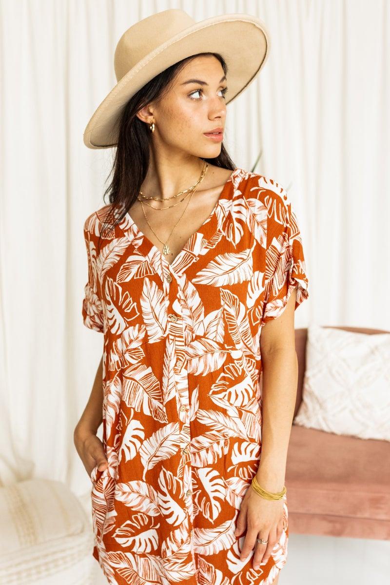 Feeling Palm Dress
