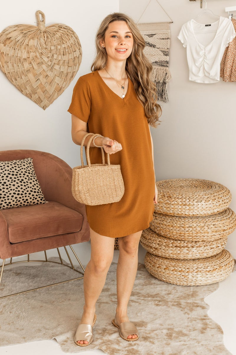 Shift into Spring Dress