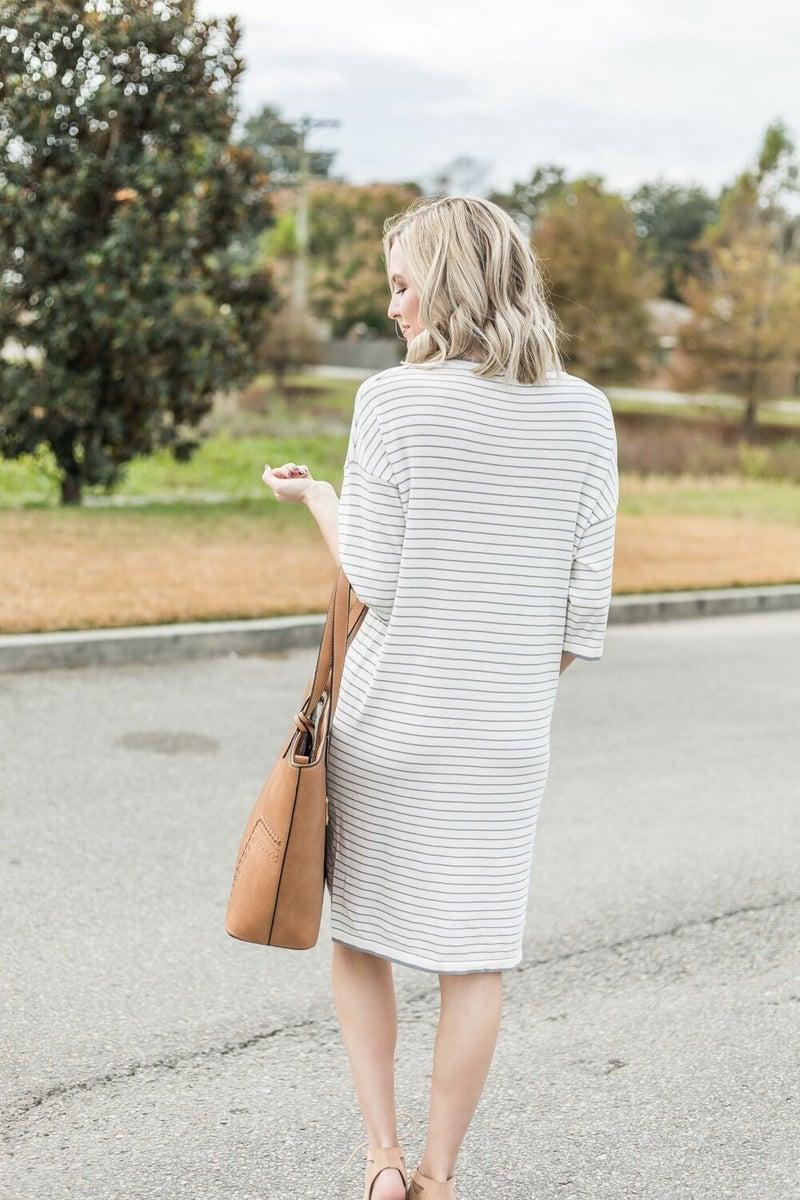 Striking in Stripes Dress