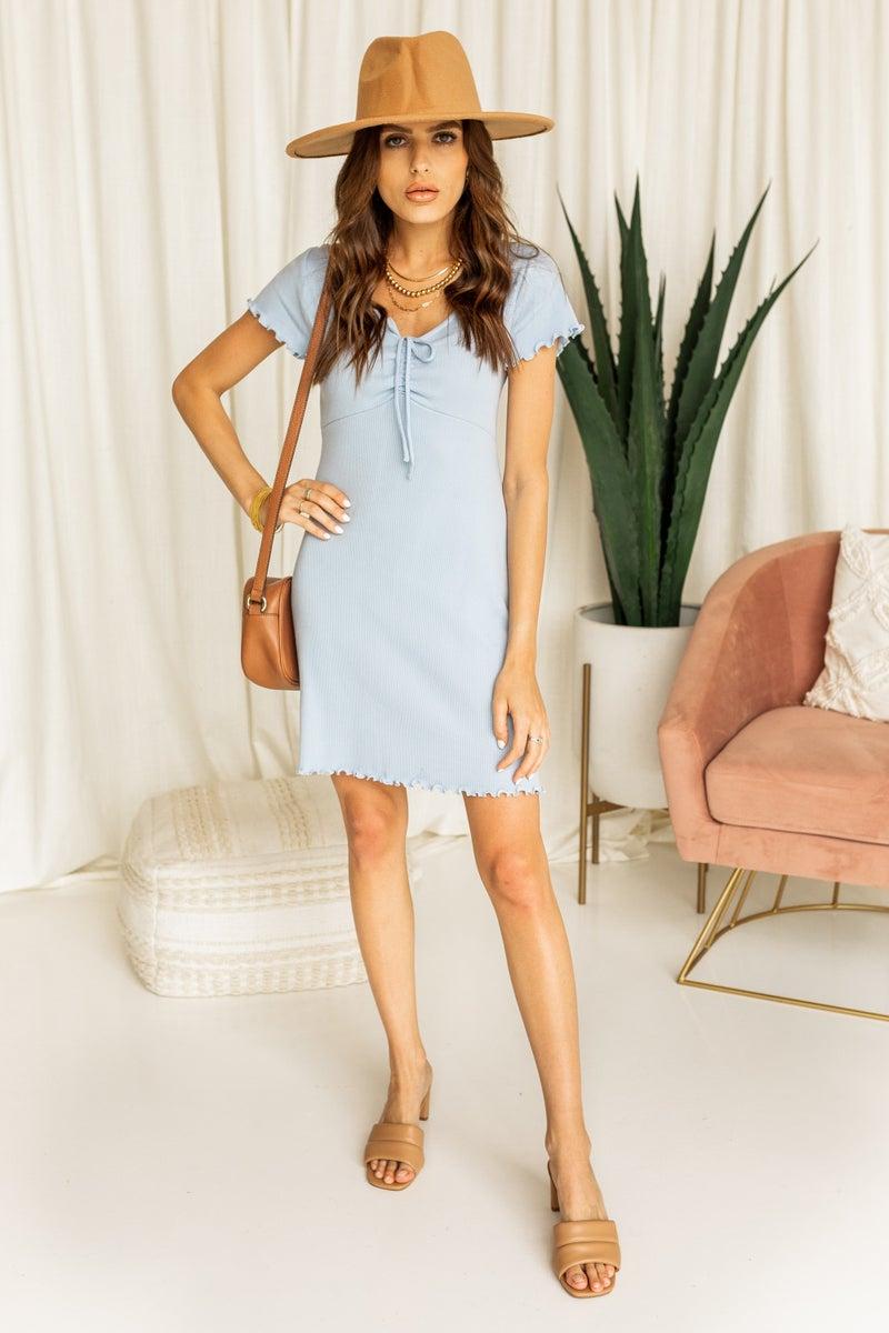 Precious in Blue Dress