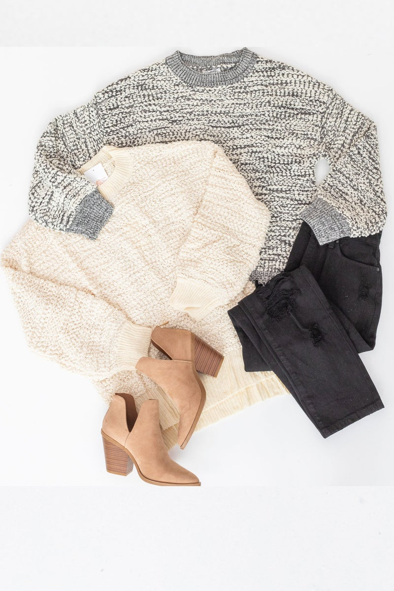 Popping into the Season Sweater