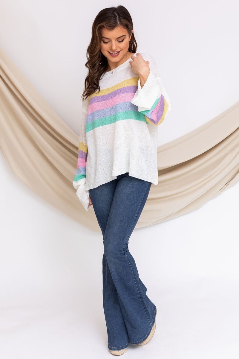 Rainbow Surprise Sweater
