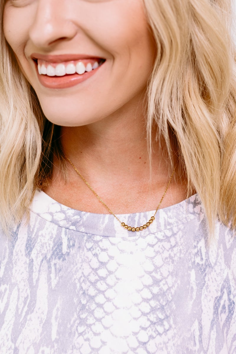 Beaded to Perfection Choker *Final Sale*