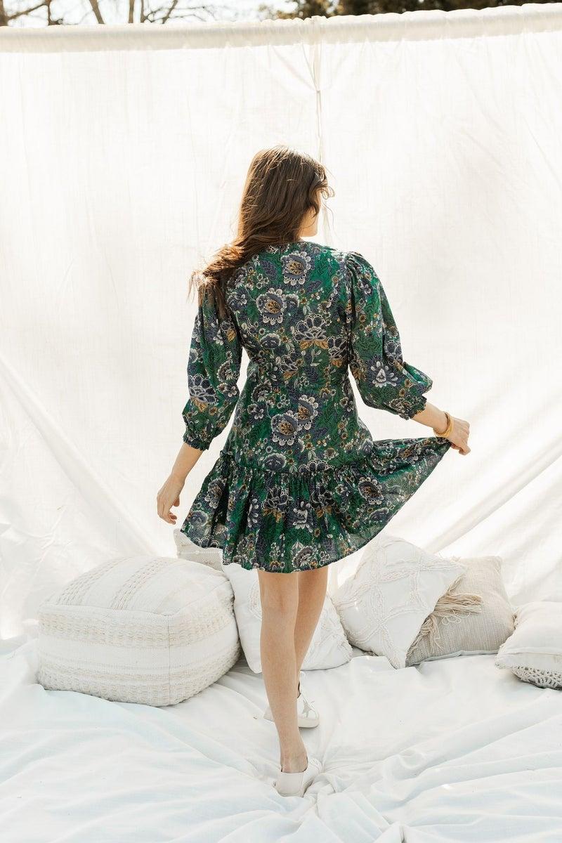 A Floral Goddess Dress