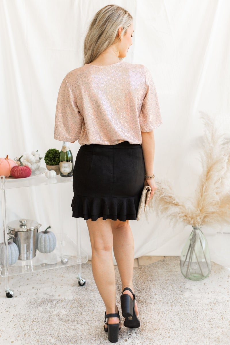 Ruffled in the Night Skirt