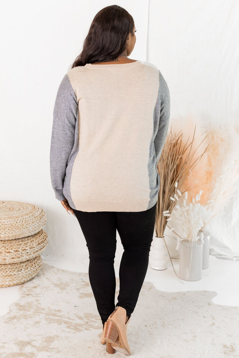 Color in the Blocks Sweater