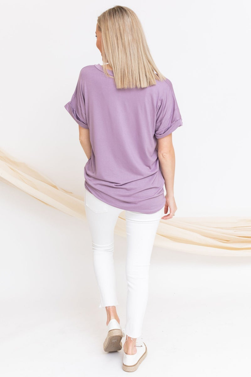 Pleased in Pockets Tee