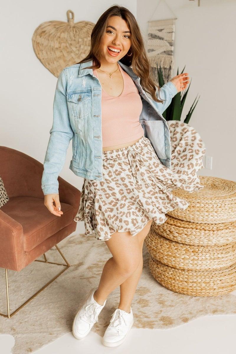 Wild for Spring Skirt