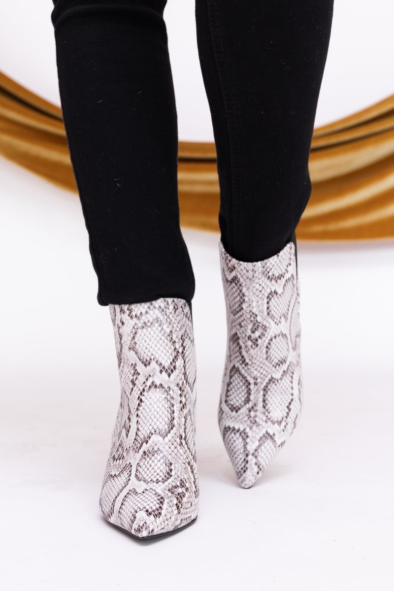Bold Snake Bootie