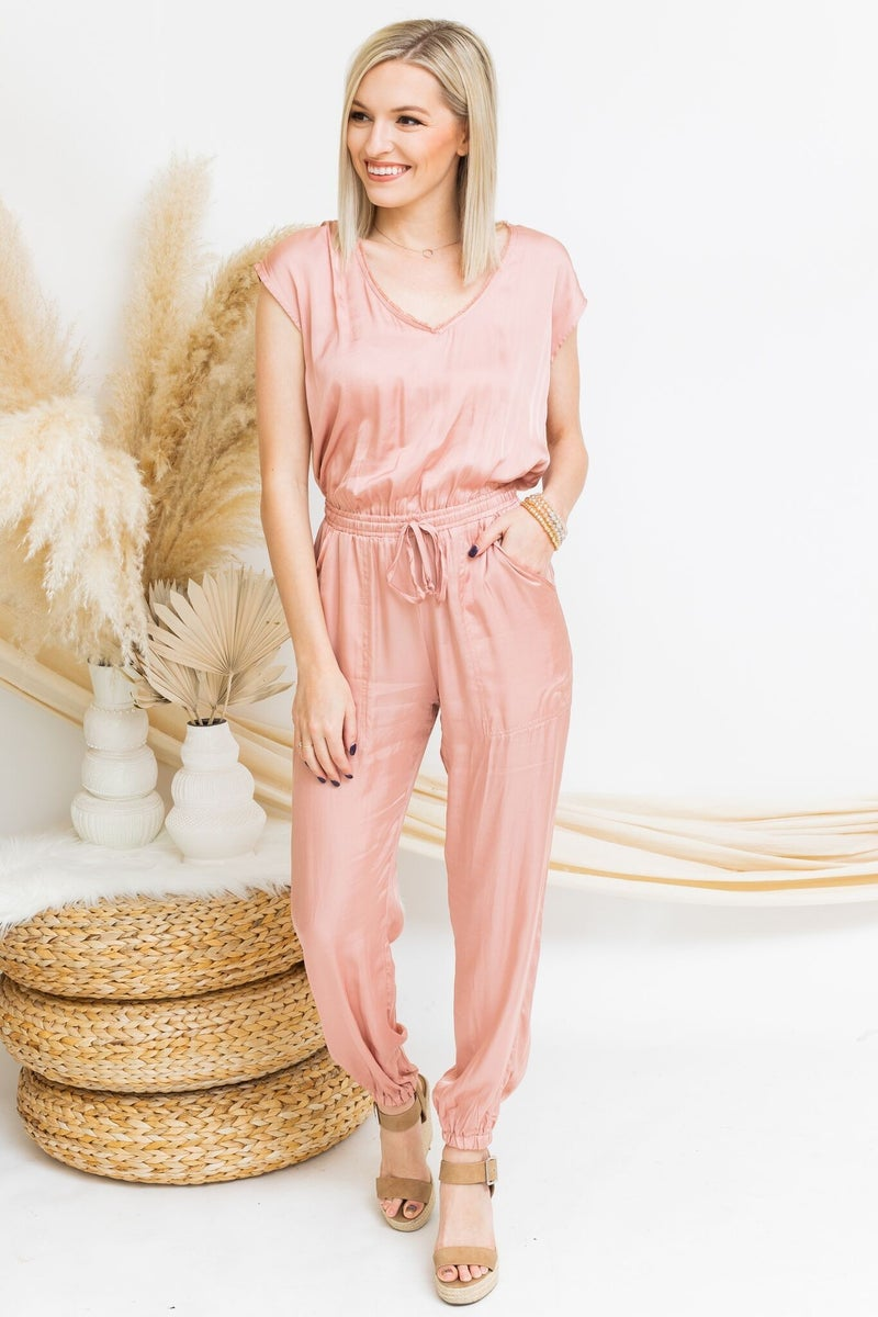 Cruising Through Spring Jumpsuit