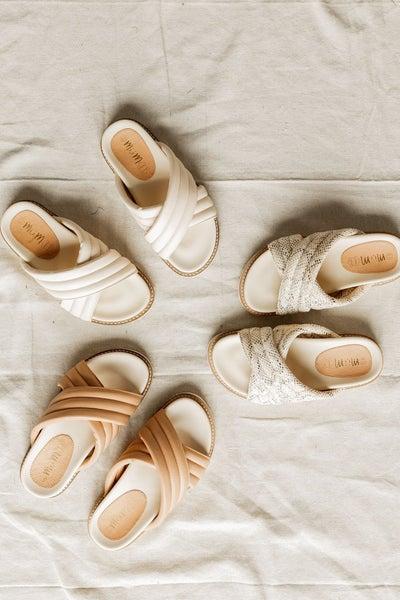 Slide into the Season Sandals