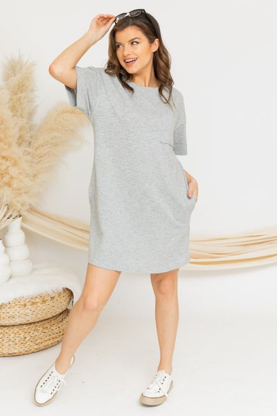 Ready to Go Tee Dress